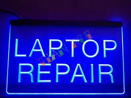 LB472 Laptop Repair puter Notebook LED Neon Light Sign home