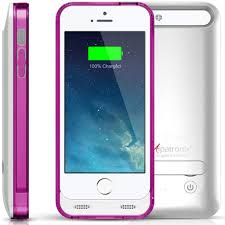 Alpatronix BX120 2400mAh Battery Charging Case for iPhone 5