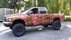 100 Pink Camo Trucks Vyper Graphics