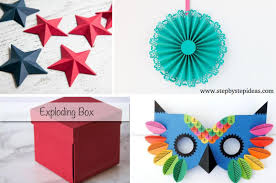 DIY Easy Paper Crafts Anyone Can Make