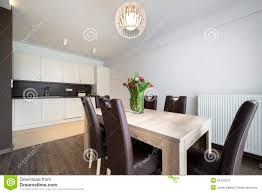 100 Modern Residential Interior Design Of Kitchen Stock Photo Image Of