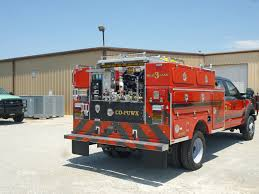 Red Black Chevrons Brush Truck BFX - BFX Fire Apparatus
