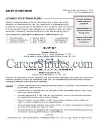 Lvn Resume Skills Best Of Licensed Practical Nurse Resume Sample