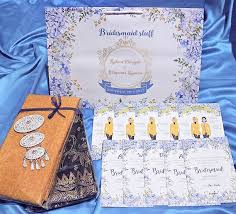 Paperbag Dan Bridesmaid Card For Ms Rahmi