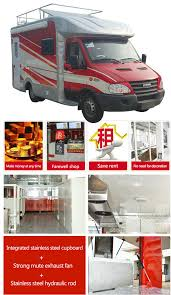 High Strength IVECO Mobile Snack Truck , Food Catering Truck ...