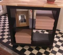 relooking meuble kallax 4 cases ikea hack