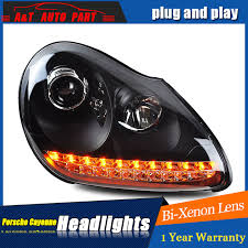auto lighting style led l for porsche cayenne headlights