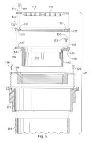 Wade Floor Drains Uk by Patent Us8347424 Leveling Mechanism For Floor Drain Google Patents