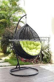 Black Rattan Round Hanging Garden Chair Hammock Buy Inside Swing Remodel 7