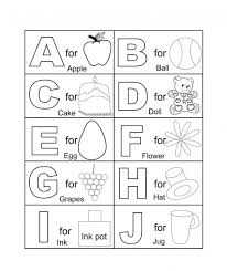Coloring Download Pages Alphabets Printables Abc Alphabet For Kindergarten On With Printable