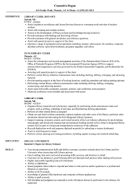 Library Clerk Resume Samples | Velvet Jobs Librarian Resume Sample Complete Guide 20 Examples Library Assistant Samples And Templates Visualcv For Public Review Quinlisk Hiring Librarians 7 Library Assistant Resume Self Introduce Specialist Velvet Jobs Clerk Introduction Example Cover Letter Open Cover Letters Letter Genius Resumelibrary On Twitter Were Back From This Years Format Floatingcityorg Information Security Analyst And