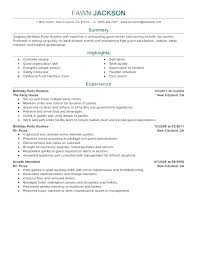 Restaurant Server Experience Resume Examples Of Resumes With Little Work For Jobs