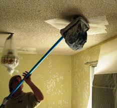 Do Acoustic Ceilings Contain Asbestos by Popcorn Acoustic Ceiling Texture Removal Denverhousepaintingpro Com