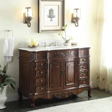 42 Inch Bathroom Vanity With Granite Top by Adelina 48 Inch Old Fashioned Look Bathroom Vanity Fully