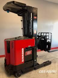 100 Raymond Reach Truck CES 20767 Forklift Coronado Equipment Sales