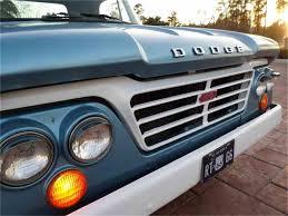 100 1964 Dodge Truck D100 Pickup Truck W Original Slant 6 3 Speed Manual