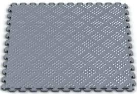 tiles castleflex carbon black interlocking rubber safety floor