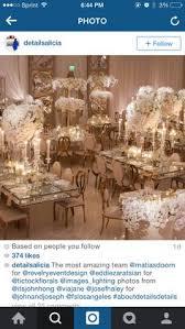 Wedding Decor With Garlands
