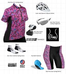 plus size gina cycling jersey pink paisley print loose fit
