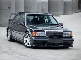 Mercedes Benz 190 E 2 5 16 Evolution II W201 1990