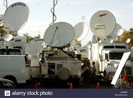 Media Satellite Trucks Parked In Stock Photos & Media Satellite ... Pmtv Sallite Uplink Trucks For Broadcast Live Streaming Trucks At The Coverage Of Timothy Mcveighs Exec Flickr Side Loader New Way The Best To Transmit Data In Really Wired 3d Rendering On Road With Path Traced By Stock Espn Gameday Truck Was Parked Nearby 2012 Us Presidential Primary Covering Coverage Tv News Broadcast Live With Antenna And Sallite Tv Truck Parabolic Frm N24 Channel Media Descend On Jpl Nasas Mars Exploration Program Rear View Of White Television Multiple