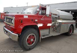 100 Truck Max Scottsdale 1988 Chevrolet 70 Fire Truck Item K5852 SOLD