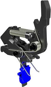 OpticsPlanet Exclusive HIPERFIRE HIPERTOUCH Blue Line Special Edition  AR-15/10 Trigger Assembly