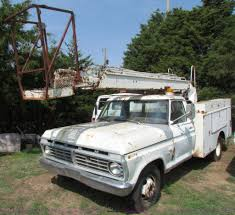100 1975 Ford Truck For Sale F350 Custom Bucket Truck Item E8049 SOLD Wedn