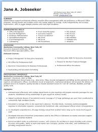 Resume For Administrative Job Magnificent Jobs Sample With Additional Senior Assistant By Profession Executive