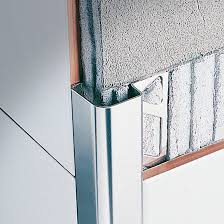 stainless steel edge trim for tiles outside corner