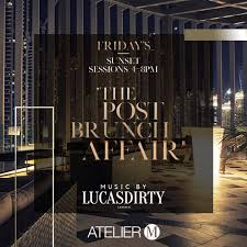 100 Atelier M The Brunch After Party Promo PromoLover