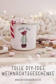 diy einfache weihnachtsgeschenke individuelle tassen
