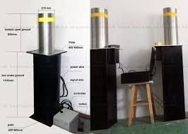 11 Best Bollards Ballards Crash Access System Hydraulic Stainless Steel Bollards Automatic