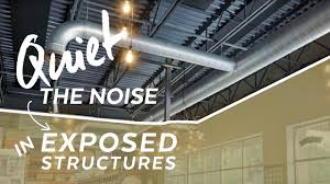 100 Exposed Ceiling Design How To Quiet Noise In Structure Installation Howto Armstrong S