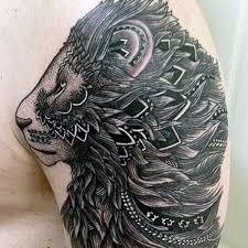 25 Beautiful Tribal Lion Tattoo Ideas On Pinterest
