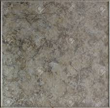 Top Down View Of Stone Floor Tile With Marbled Effect Stock Photo