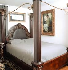 King Size Canopy Bed With Curtains by Bed Frames Canopy Bed Sets Full Size Bed Frame With Headboard
