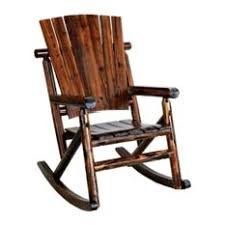 Rustic Outdoor Rocking Chairs For Less