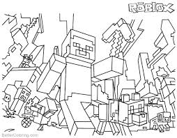 Minecraft Coloring Sheets To Print Download This Page Steve