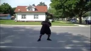 Gangster Hit By Ice Cream Truck While Dancing - YouTube
