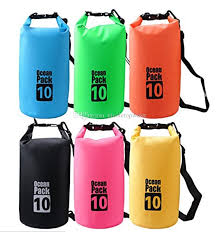2018 10l Waterproof Dry Bag Floating Gear Bags Ocean Pack For