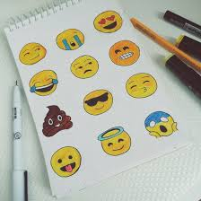 Black Blue Brown Cry Draw Drawing Emoji Heart