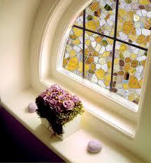 Artscape Magnolia Decorative Window Film by Artscape First Stained Glass Window Film 24