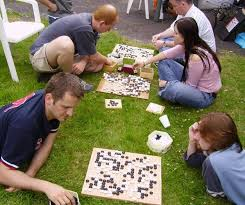 Go Is A Territorial Game The Board Marked With Grid Of 19 Lines By May Be Thought As Piece Land To Shared Between Two