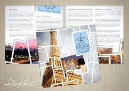 Travel Brochure Created From A Photography Studio Graphic Design Template
