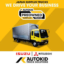 100 Surplus Trucks ISUZU FORWARD Wing Van AUTOKID Tractor Head