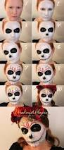 Easy Sugar Skull Day Of by Best 25 Sugar Skull Makeup Tutorial Ideas On Pinterest Day Of