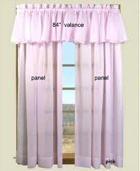 Pink Ruffled Window Curtains by Pink Window Valance U2013 Intuitiveconsultant Me