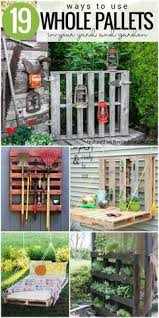 19 Whole Pallet Projects For Your Yard And Garden Garage Remodelaholic