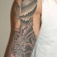 Angel Half Sleeve Tattoo On TattooChief